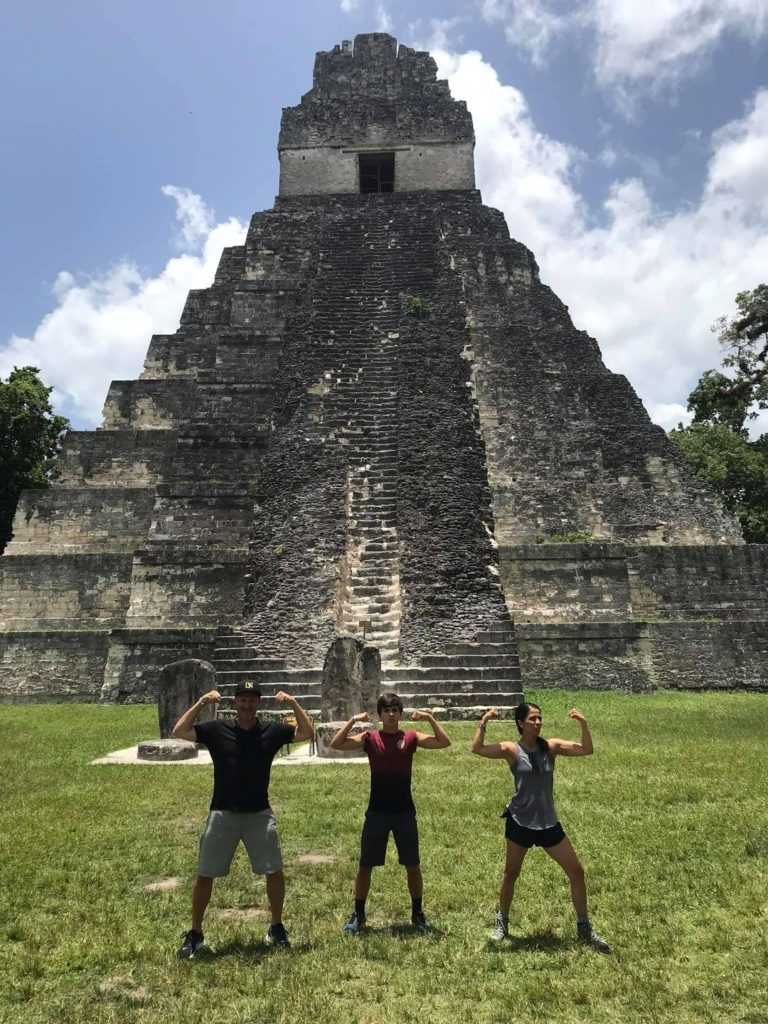 Mayan Ruins, Women's Voices